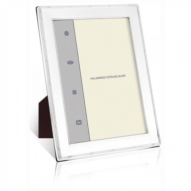 Reed And Ribbon Smooth 25x20 Cm - 10x8 Inch Classic Photo Frame