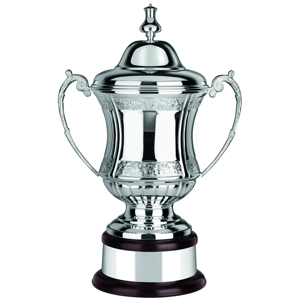 19 Inch Floral Patterend Ultimate Trophy Cup