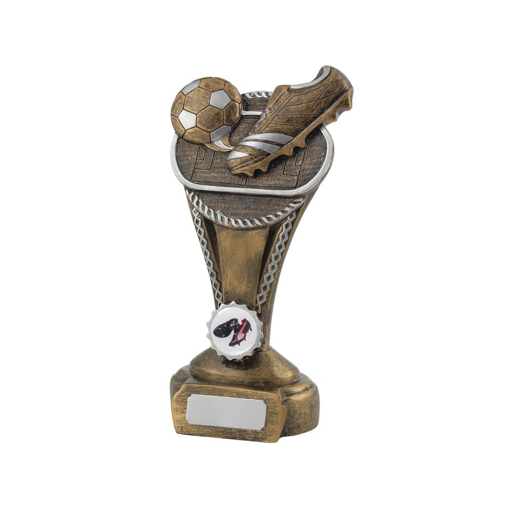 7 Inch Boot Striker Football Golden Lion Award