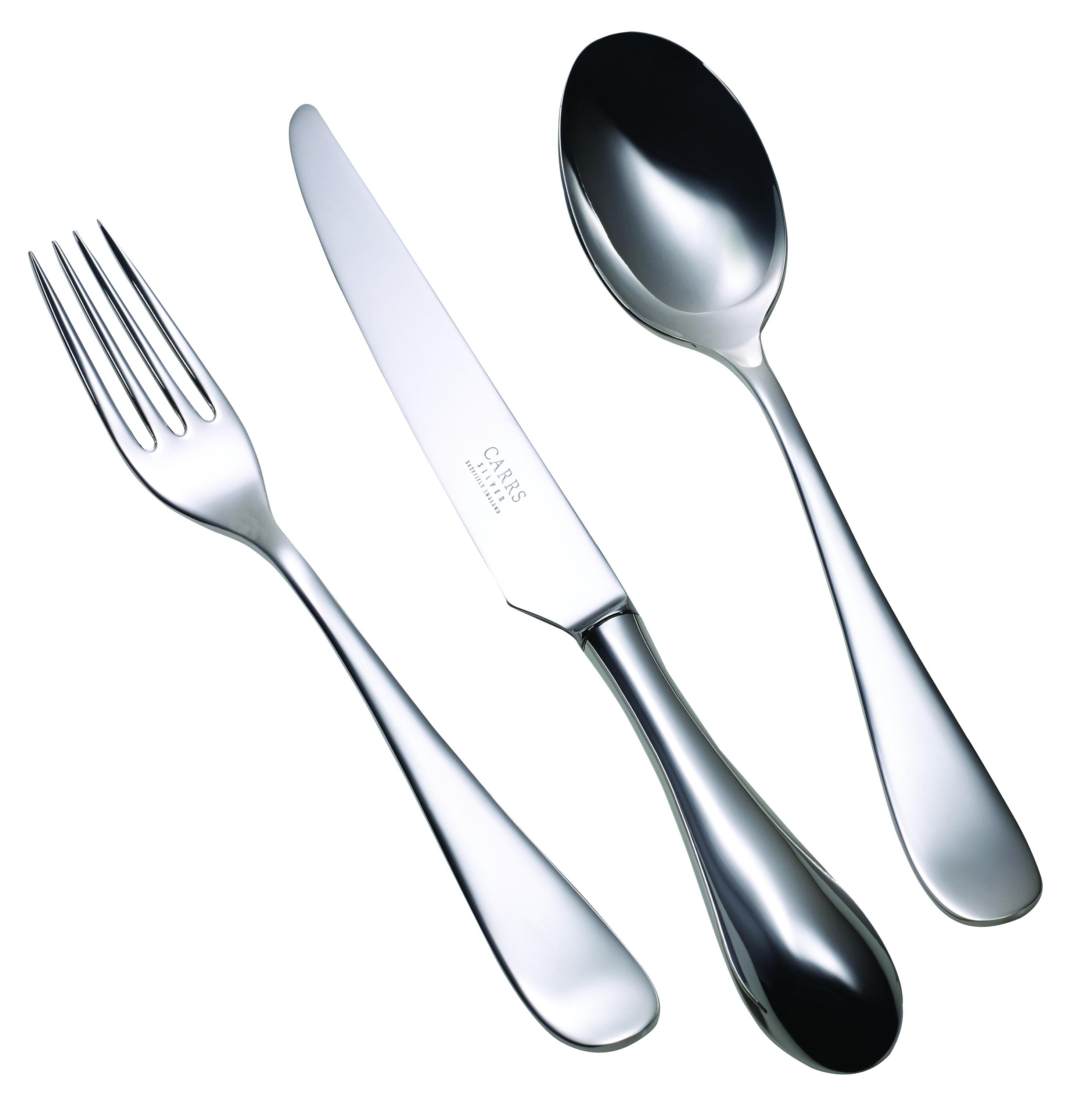 Children's Silver Cutlery Set Vision Design