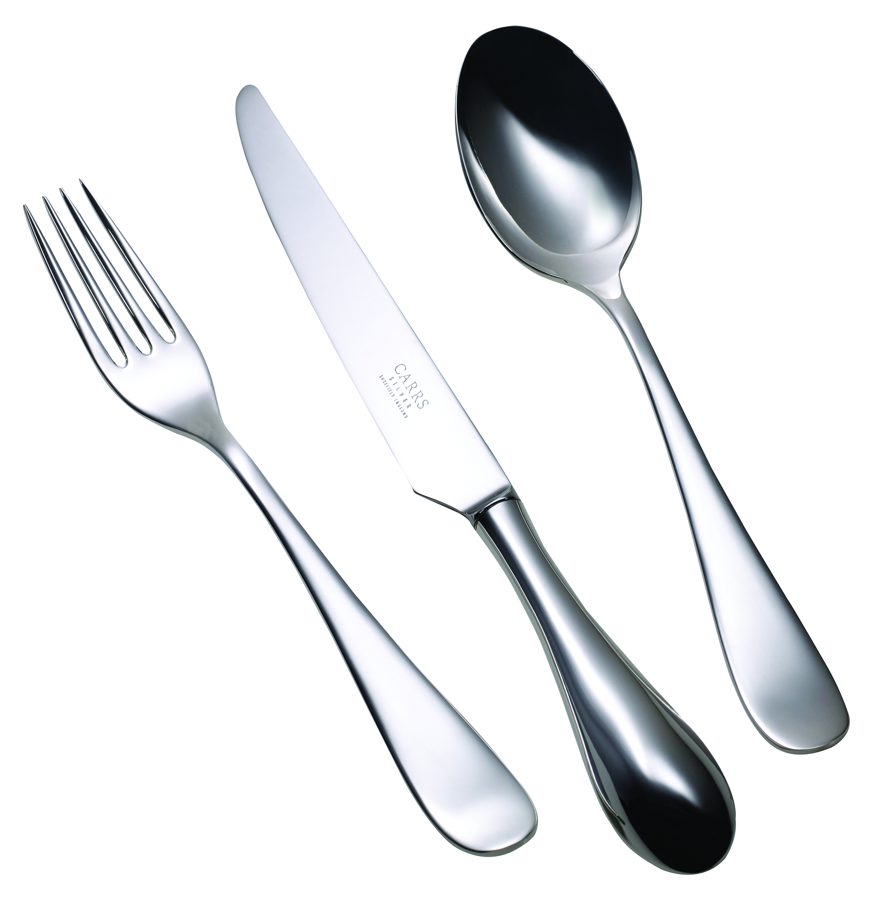 Children's Silver Plated Cutlery Set Vision Grip